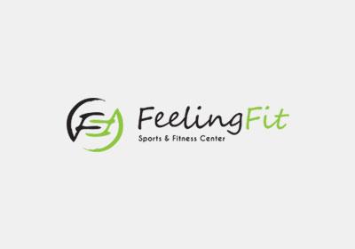 Feeling Fit | Σχεδιασμός λογοτύπου